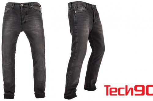 Tech90 performance motorcycle jeans with COOLMAX® technology help keep bikers and riders cool and dry while protecting legs.