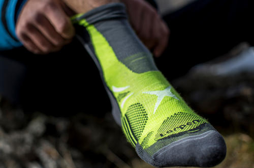 Lorpen adopts COOLMAX® technology for its new line of T3 technical performance socks featuring smart layer design.