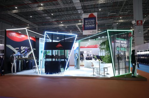The LYCRA Company booth at Intertextile Shanghai, September 2019